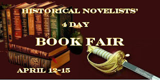 Historical novelists book fair logo