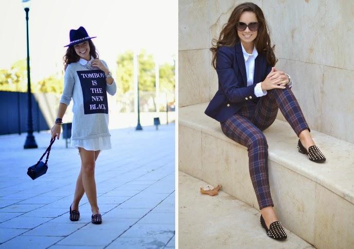 4 maneras de llevar zapatos con pinchos