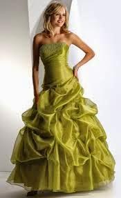 vestido de debutante sereia verde - fotos