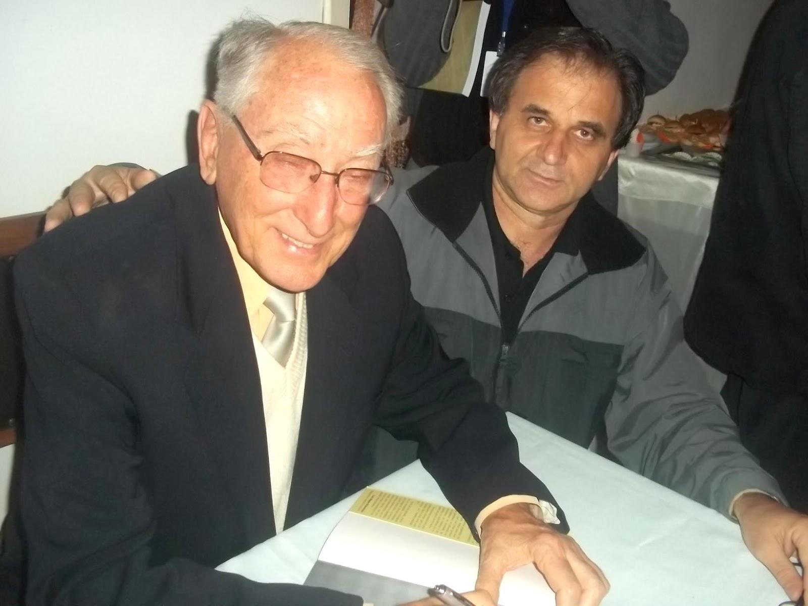 Airton Engster dos Santos e Werner Schinke