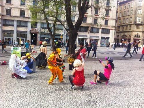 FlashMob no Centro da cidade