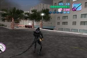 GTA Vice City Alien vs Predator-Screenshot-1