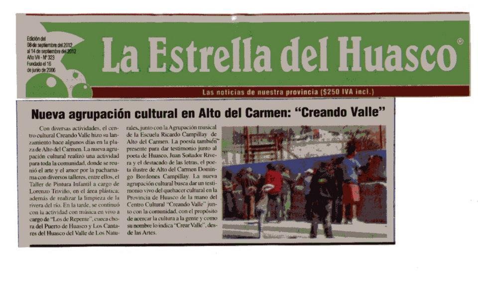 La Estrella del Huasco!
