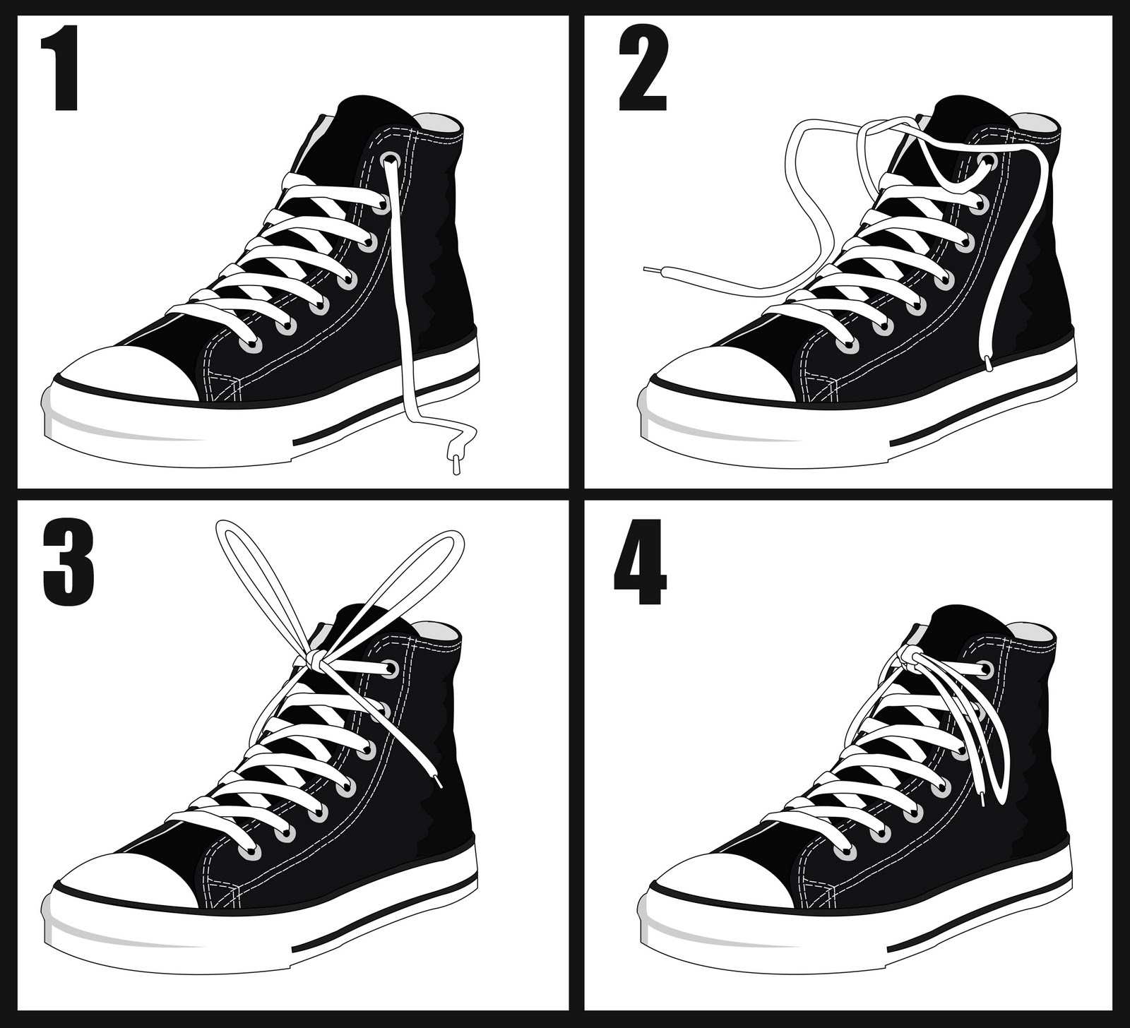 Branden Creese Artwork - Inside Brandens Head: How to Tie Your Shoes