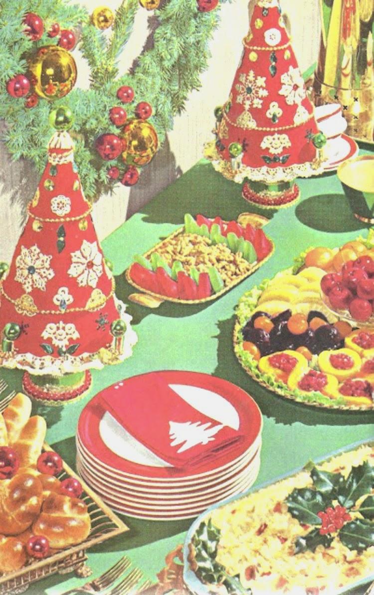 Be Inspired: 1960's Christmas Dinner - A Vintage Nerd