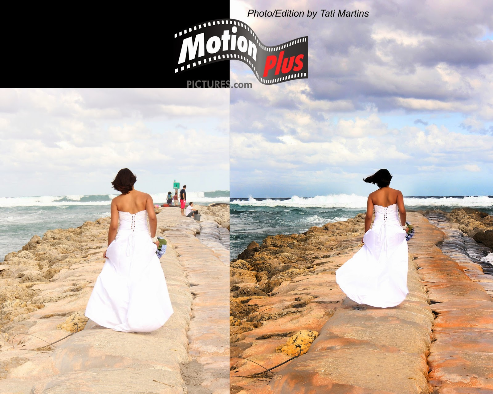 Photoshop Ideas Before And After  - Wedding At The Beach Photoshop Ideas By Tati Martins Motionpluspictures