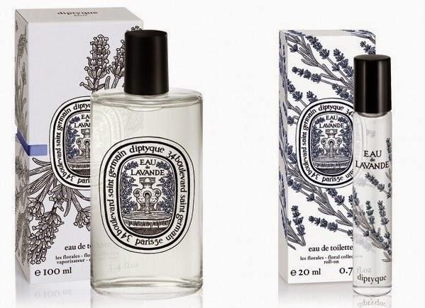 Eau de Lavande, Diptyque Eau de Lavande, lavender, fragrance, floral, soothing, diptyque fragrance