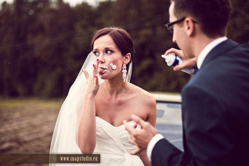 Długie kolczyki ślubne sutasz