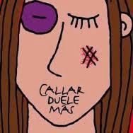 """""""Callar duele más..."""""""