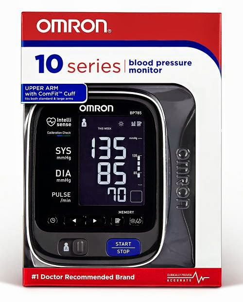 Boxed Omron 10 Series Blood Pressure Monitor BP785