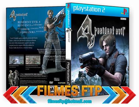 Resident Evil 4 PT-BR PS2