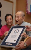 გინესის რეკორდსმენი ყველაზე მოხუცი მამაკაცი მსოფლიოში
