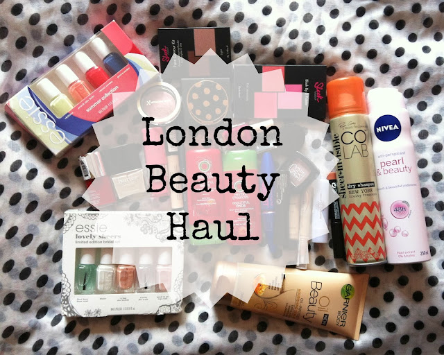 London Beauty Haul: Boots, Superdrug & TK Maxx