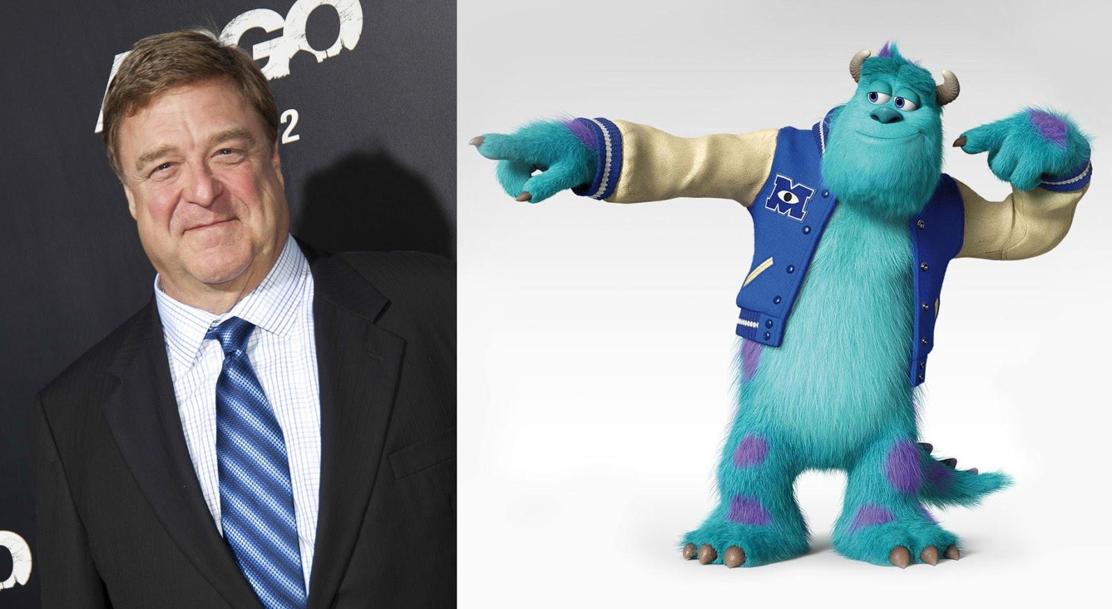 John goodman returns to breathe life to sulley in disneypixars when voltagebd Image collections