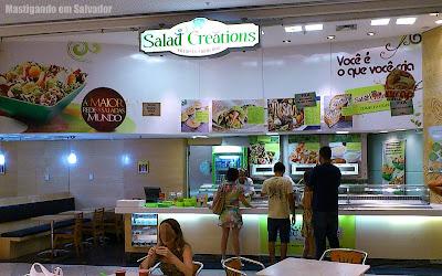Salad Creations: Fachada da loja do Salvador Shopping