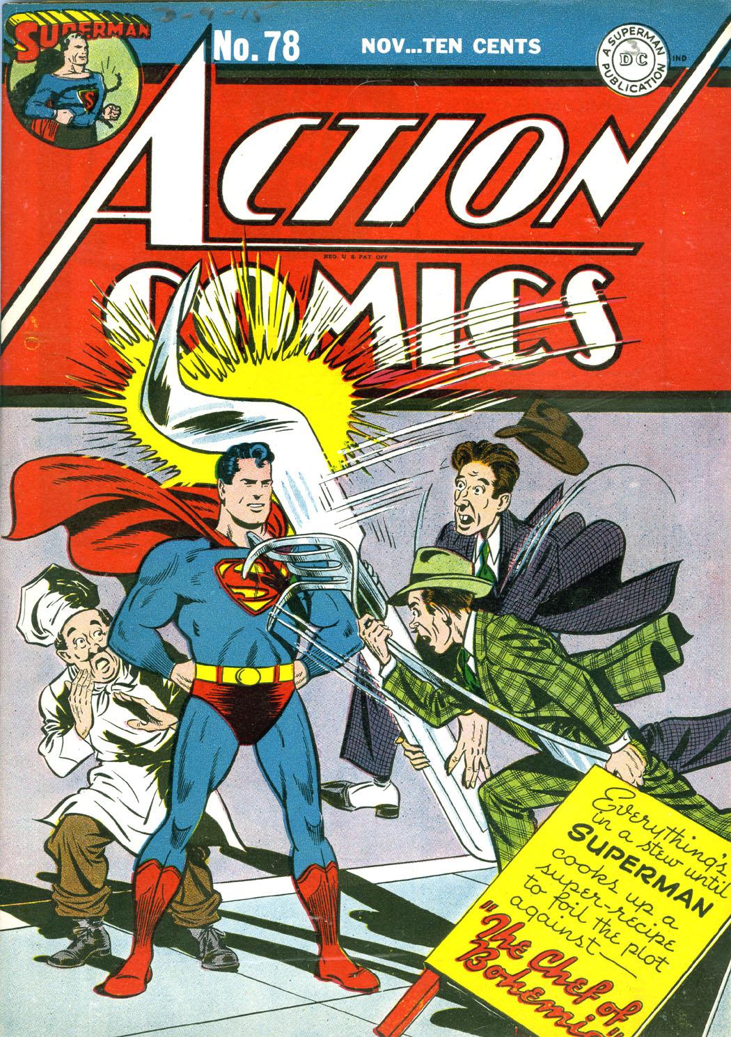 Action Comics (1938) 78 Page 1