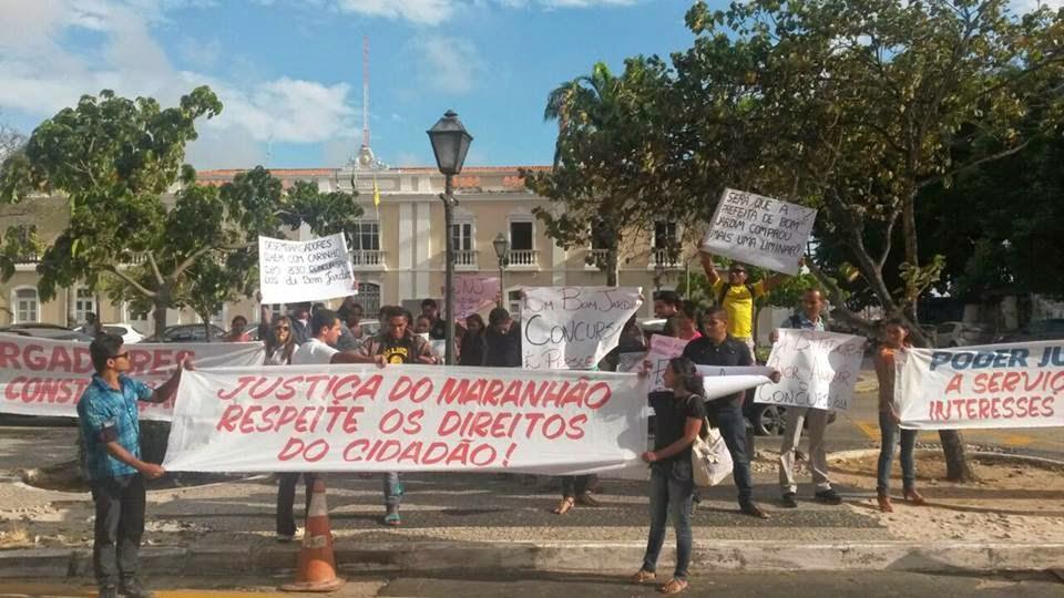 festa em bom jardim hoje:MARCADO PARA HOJE: Concursados de Bom Jardim voltam a protestar em