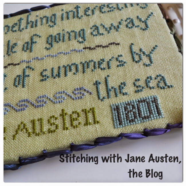 Stitching with Jane Austen, The Blog