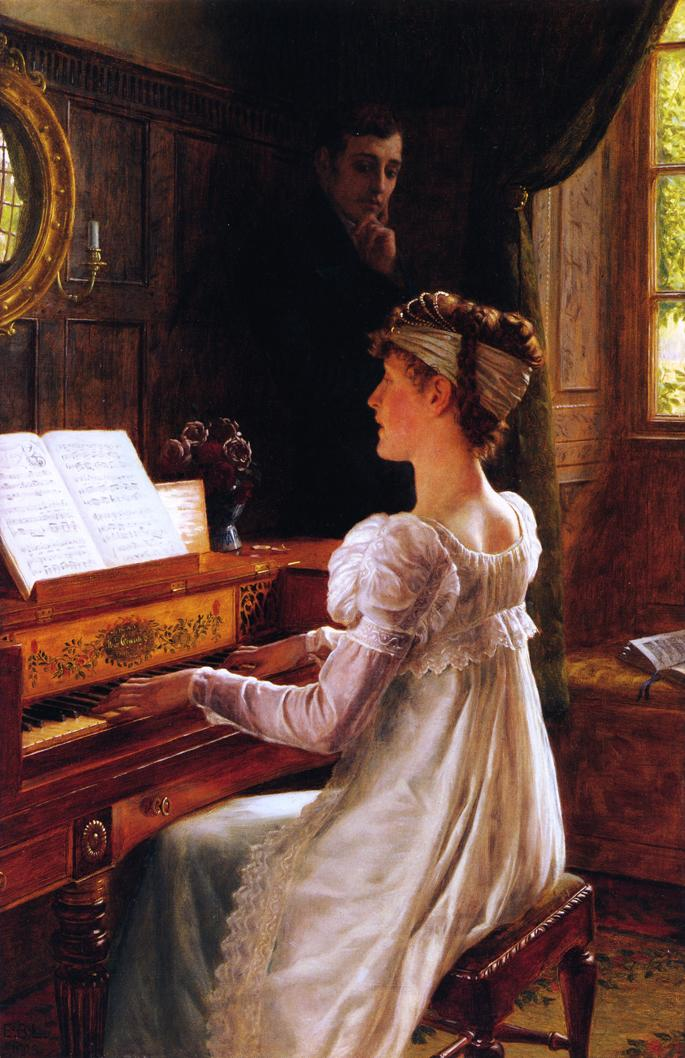 Victorian British Painting: Edmund Blair Leighton