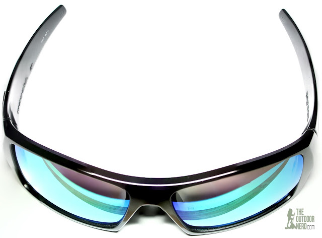 Walleva Replacement Lenses For Oakley GasCan Sunglasses - Green Lenses 1
