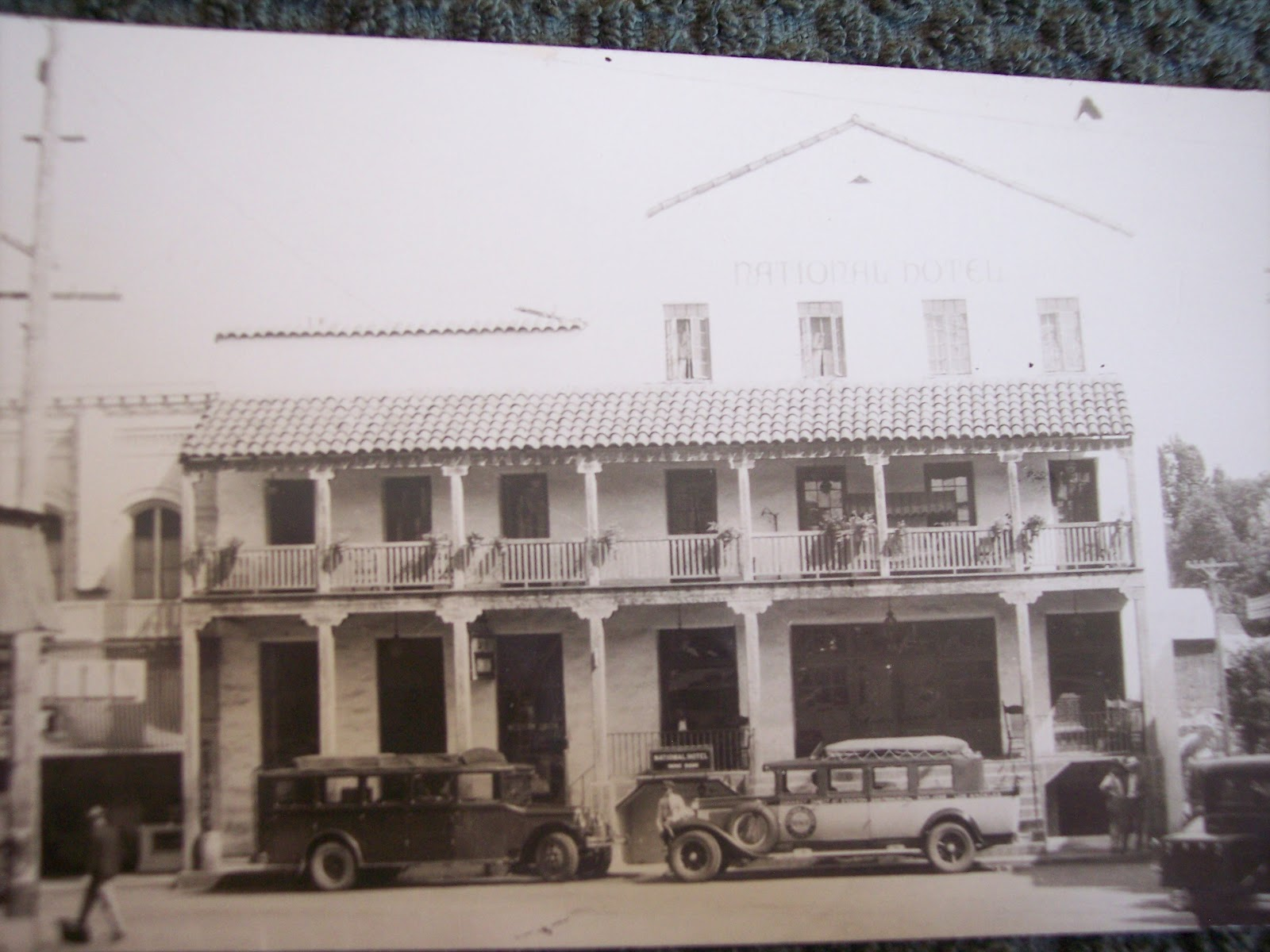 National Hotel The Louisiana House Jackson California Postcards