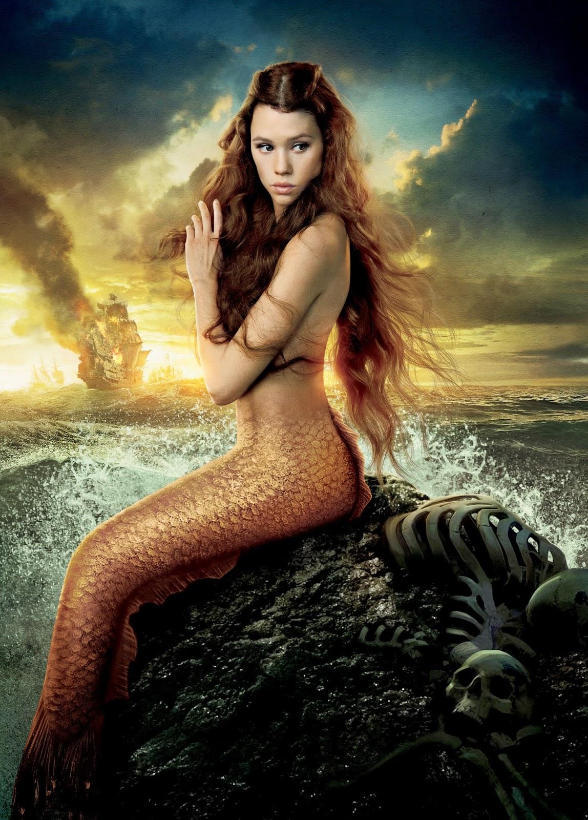Mermaid Syrena, goddess of the sea