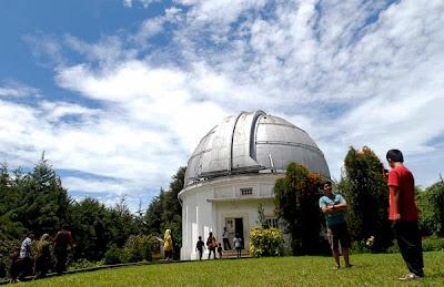 wisata lembang bandung observatorium