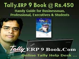 Get.. Tally.ERP 9 Book @ Rs.450