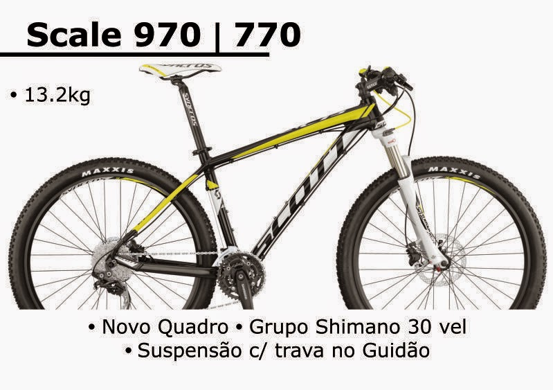 Bicicleta Scott Scale 970 / 770 2015