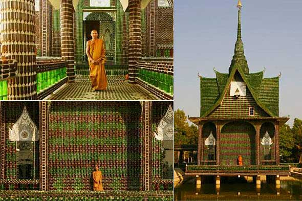 temple built with million beer bottles readitt the e