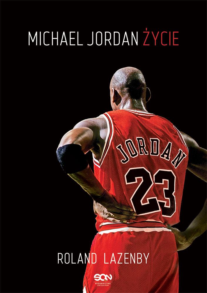 "Okładka książki ""Michael Jordan. Życie"""