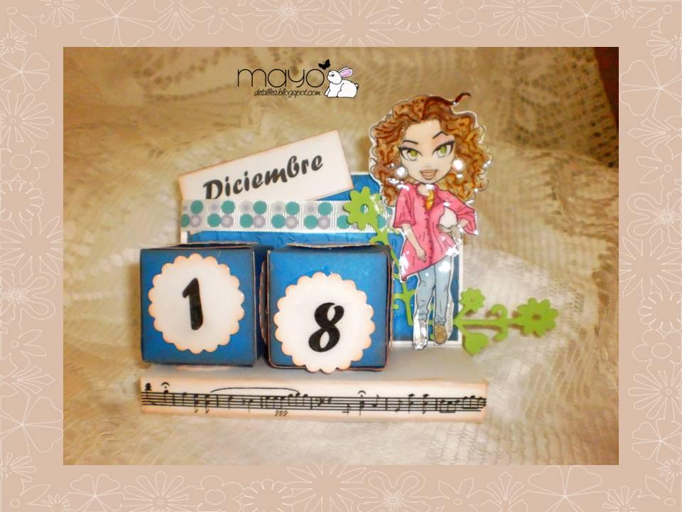 Mayo detalles y manualidades calendario perpetuo o cubo for Calendario manualidades