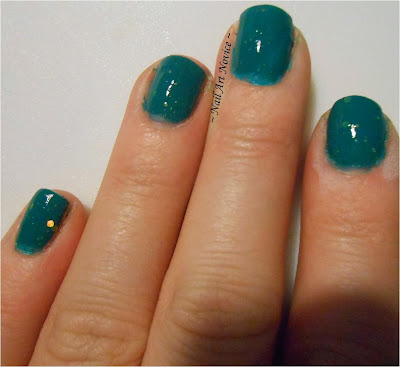 Nelly Polishes-Jonah's Green + Topcoat