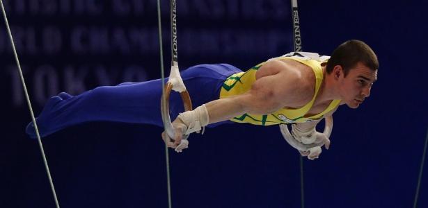 Resultados de Arthur Zanetti não foram suficientes para a ginástica crescer em São Caetano, onde treina (Foto: Toru Hanai/Reuters)