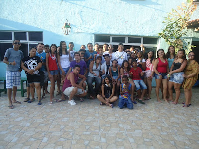 IAM e JM da Paróquia Cristo Redentor, em Fortaleza/CE, promovem retiro