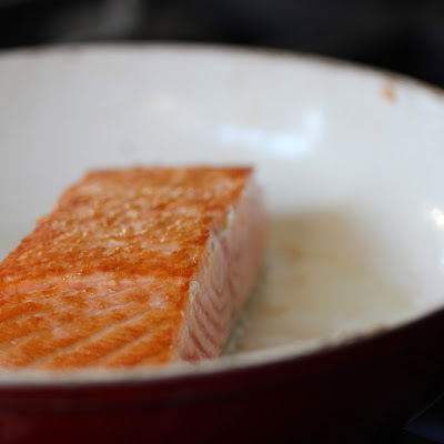 perfect pan seared salmon