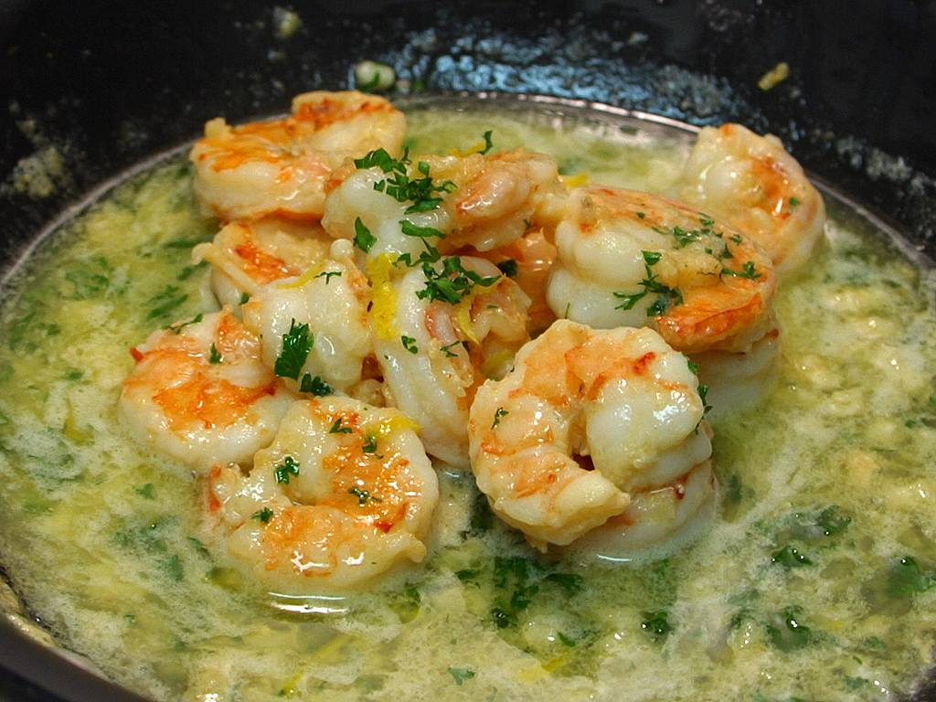 Healthy and Easy Recipes for Lazy People: Shrimp Scampi