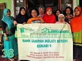 Bank Sampah Melati Bersih Kenari 9