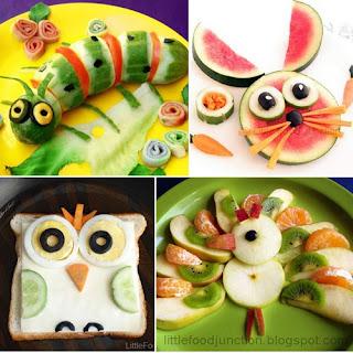 comida creativa creatividad alimentacion cuqui cute animal animales bichos bonito colores