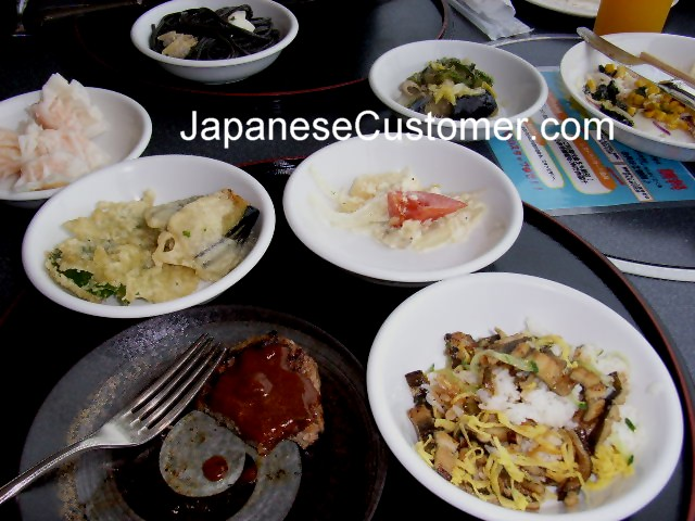 A Japanese lunch meal Copyright Peter Hanami 2007
