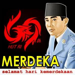 Gambar Animasi 17 Agustus Bergerak DP Hari Kemerdekaan Indonesia Soekarno