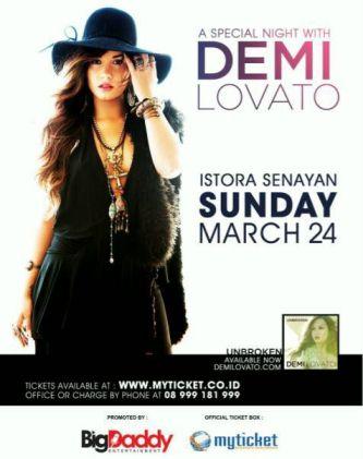 Konser Demi Lovato