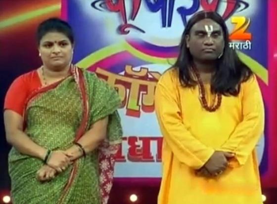 comedians bhau kadam and supriya pathare win fu bai fu