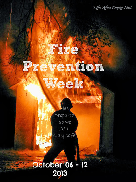 Fire Prevention Week. Being prepared ke
