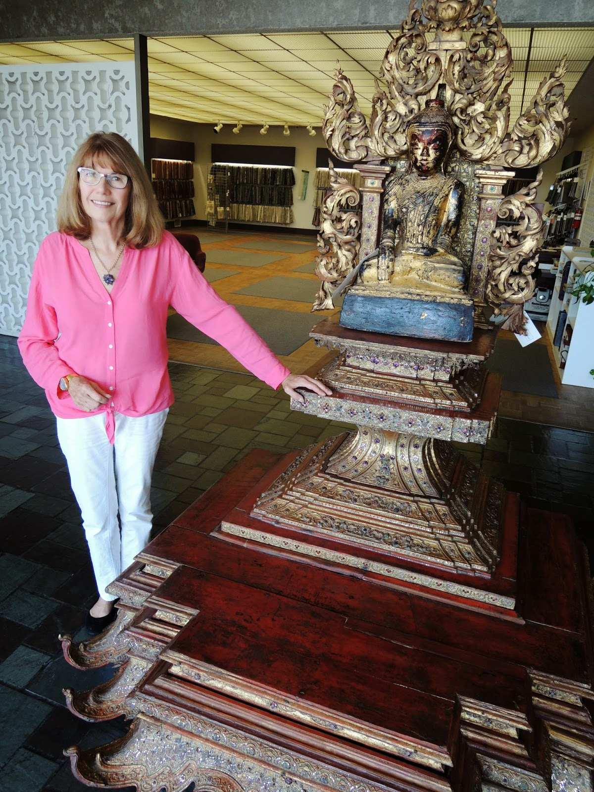 Marla Gentry, Buddha altar, Burma, Chiang Mai, Victoria and Albert Museaum, Lonton, Doris Duke