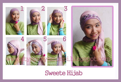 Tutorial Sweety Hijab