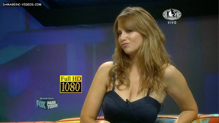 Julieta Cayetina busty argentina actress hot cleavage HD video