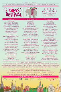 Camp Bestival announces Day by Day line-up