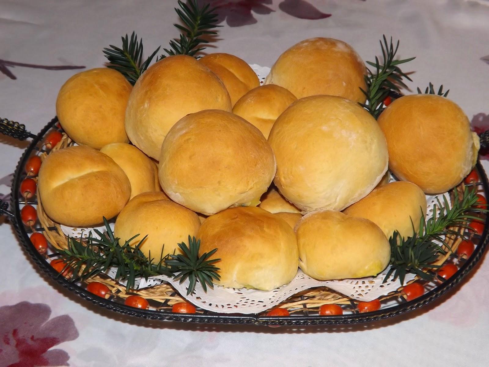 Bułeczki  z ziemniakami