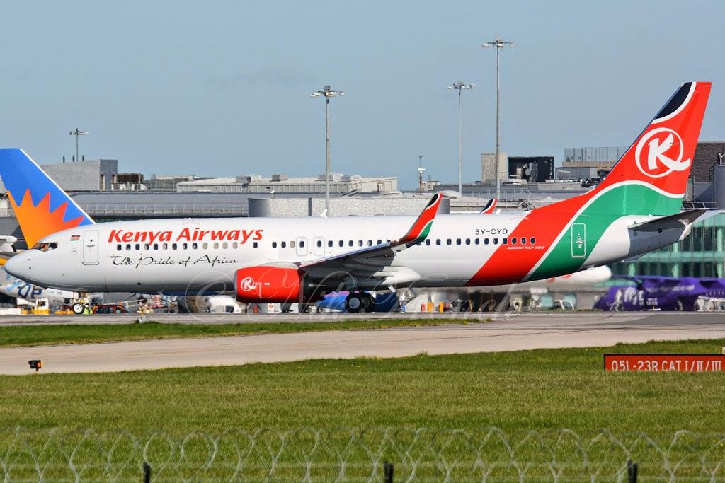 kenya airways flights